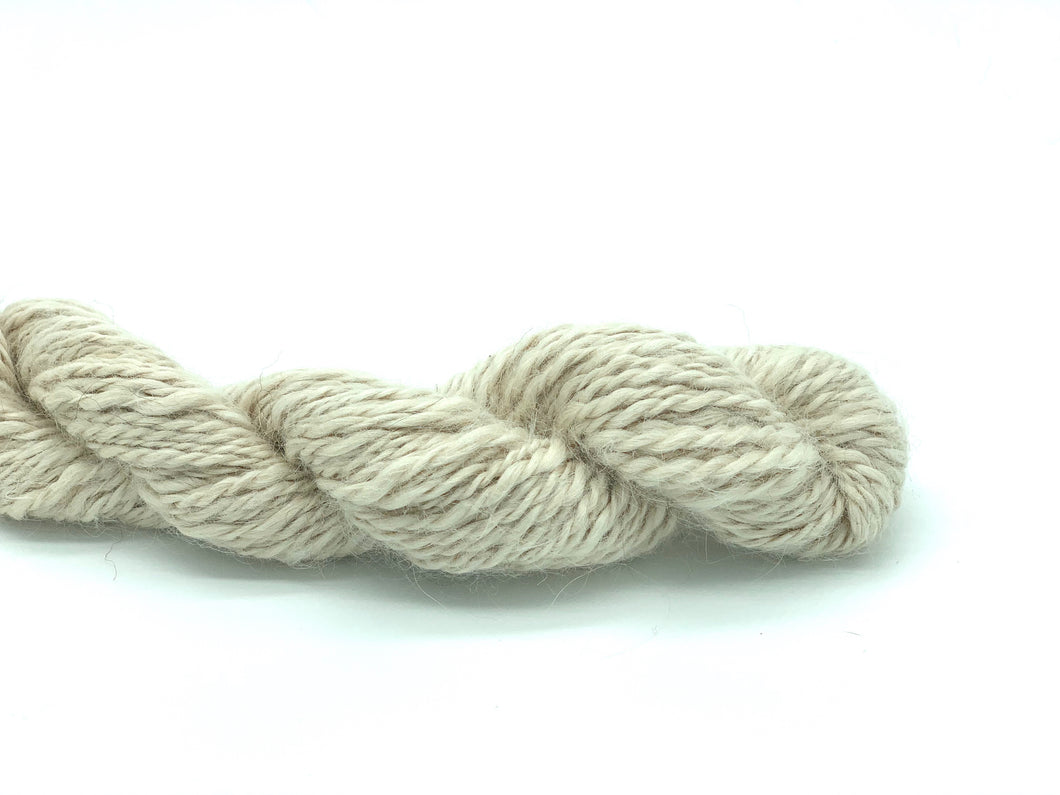 Handspun Baby Suri Alpaca Yarn ~ Naturally Colored Aran