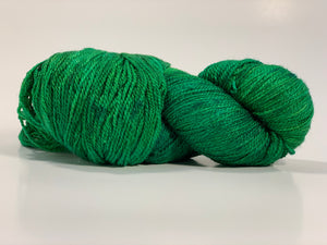Mismated: Evergreen ~ Superwash Merino Wool and Silk