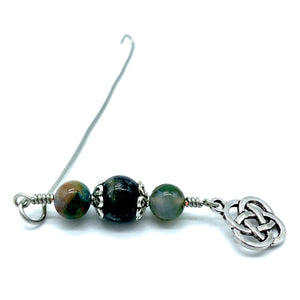 Handmade Orifice Hook ~ Celtic Knot
