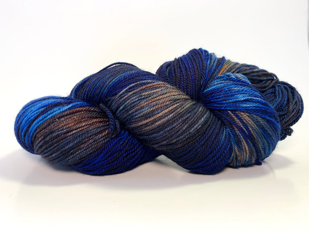 Temporum: Hitler had a Death Hawk ~ Superwash Merino, Cashmere, Nylon