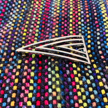 Silver Metal Shawl Pin ~ Lead the Way