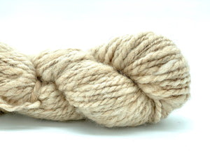 "Handspun Baby Alpaca Yarn ~ Naturally Colored Superbulky ""Dimmer"" 75 yards"