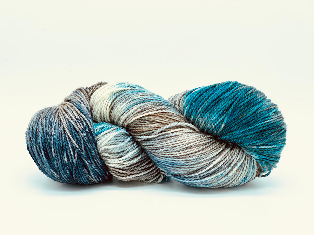 Mismated: Mists ~ Superwash Merino Wool and Silk
