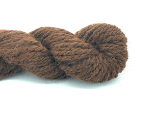 "Handspun Alpaca Yarn ~ Naturally Colored Super Bulky ""Jacob's Bark"" 60 yards"