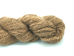 "Handspun Baby Alpaca Yarn ~ Naturally Colored Aran ""Newman"""