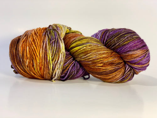 Temporum: Sunset ~ Superwash Merino, Cashmere, Nylon