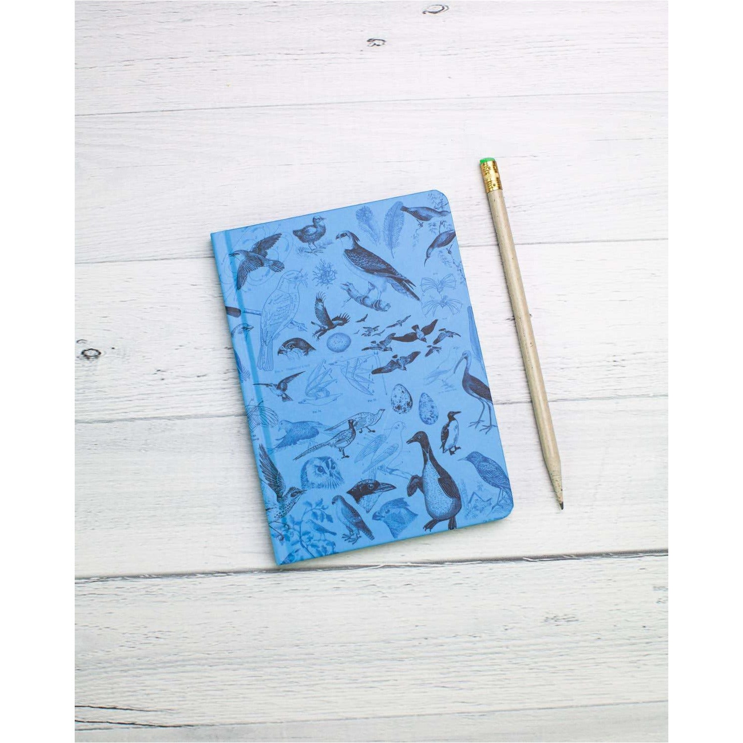 Birds Mini Hardcover Notebook | Dot Grid