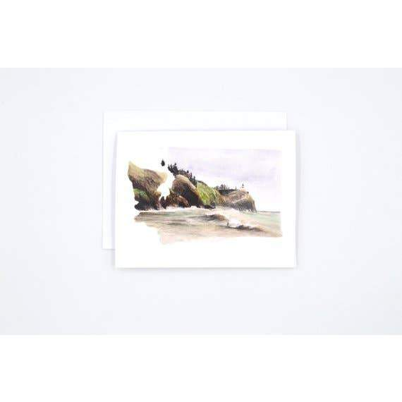Washington State Art Card - Watercolor Notecard