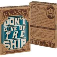 Don't Give Up the Ship Flask