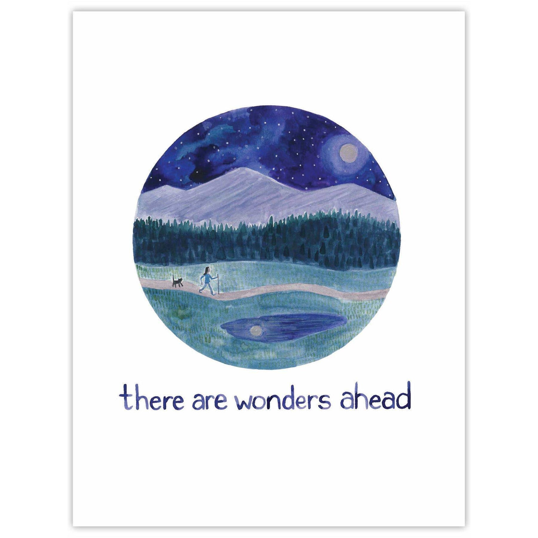 Wonders Ahead Congratulations Card