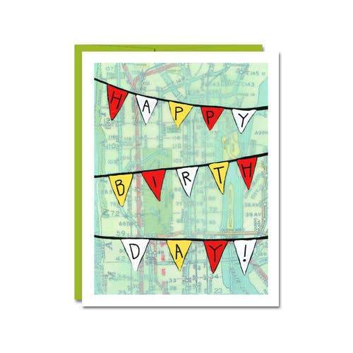 Banner Birthday Card
