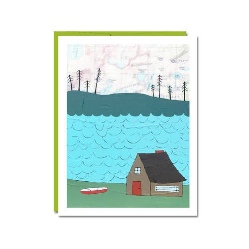 Lake Cabin Card