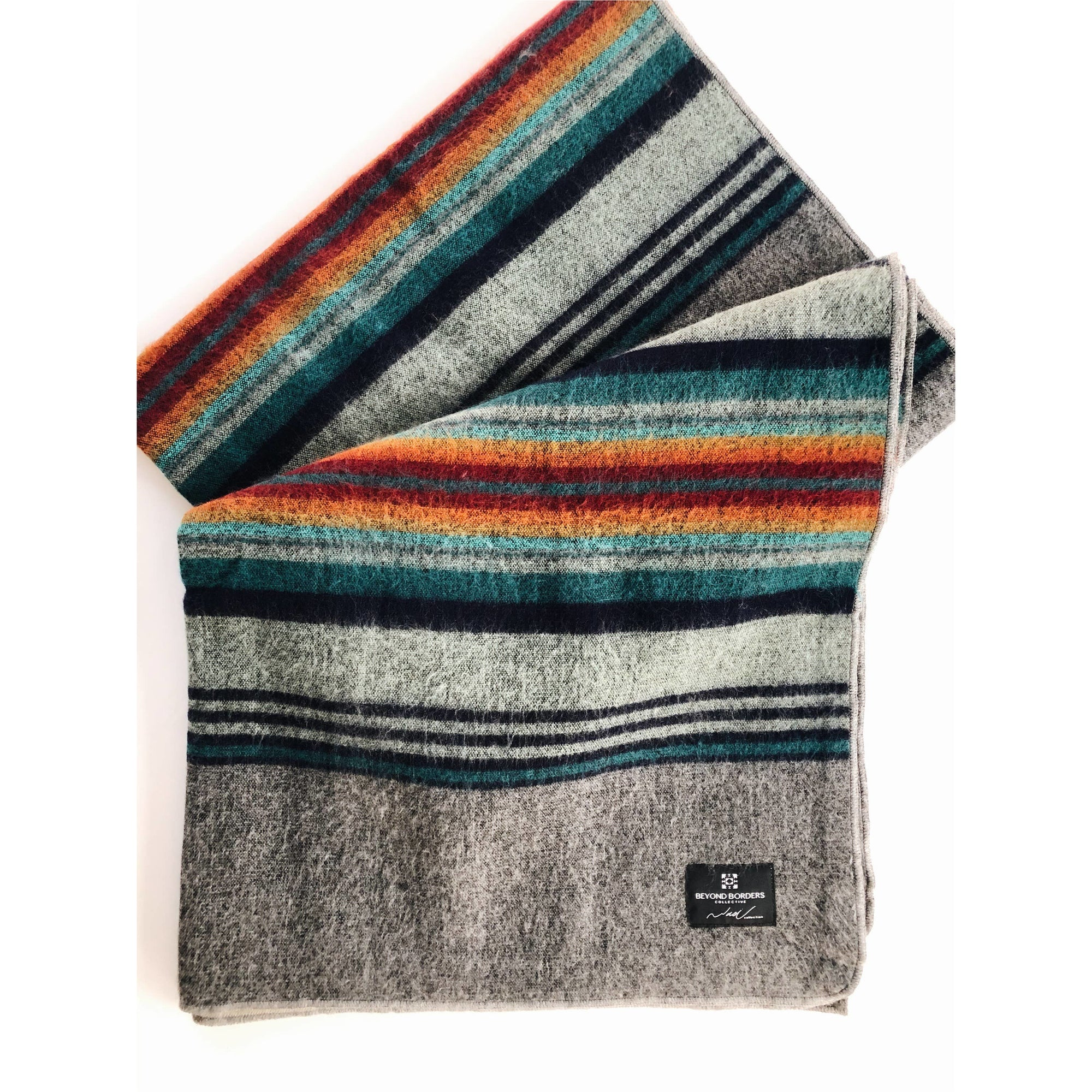 Traveler Blanket | Gray Sunrise