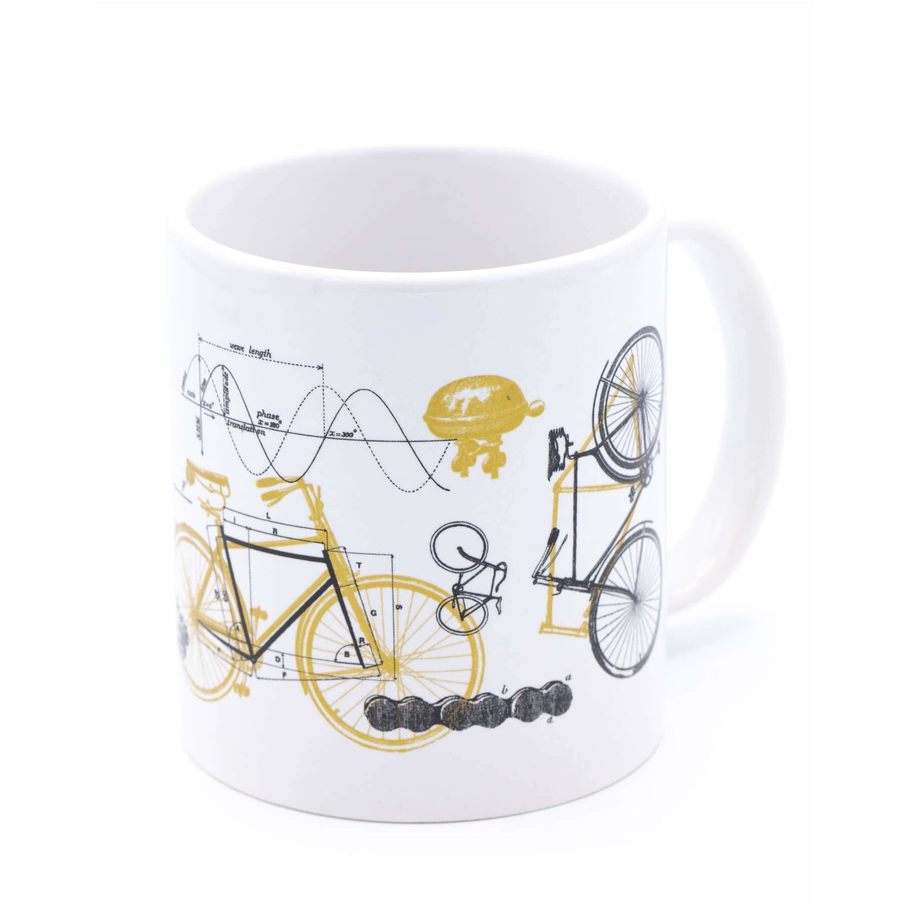 Bicycle Science Mega Mug