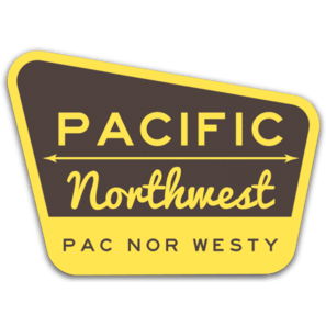 PNW Forest Sticker