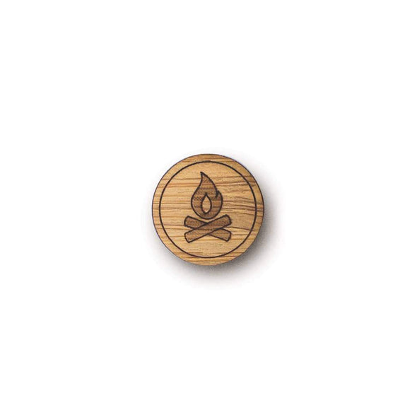 Campfire Bamboo Pin Mini