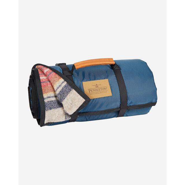 Vintage Stewart Roll Up Blanket | Pendleton