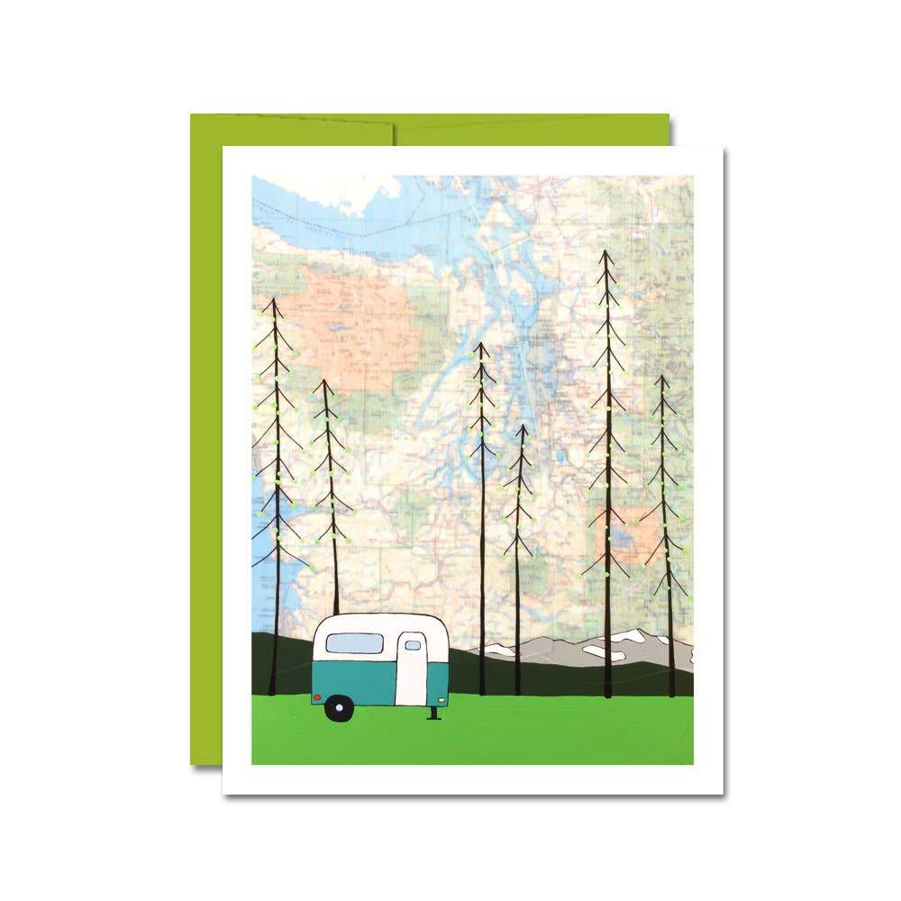 Washington Camper Card - Rachel Austin