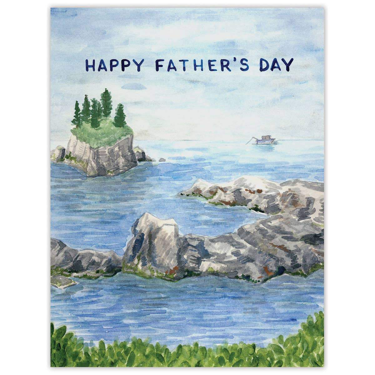 Fishing Father's Day Card