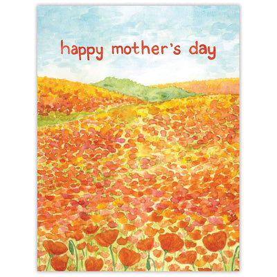 Yardia Poppies Mother's Day Card