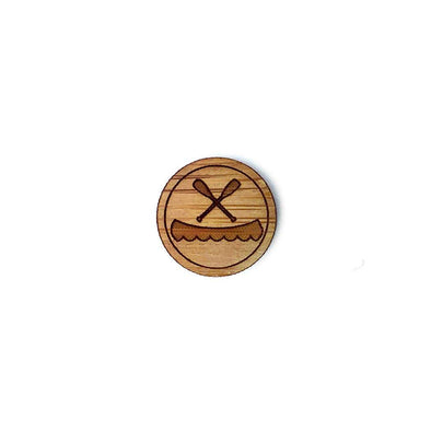 Canoe Bamboo Pin Mini