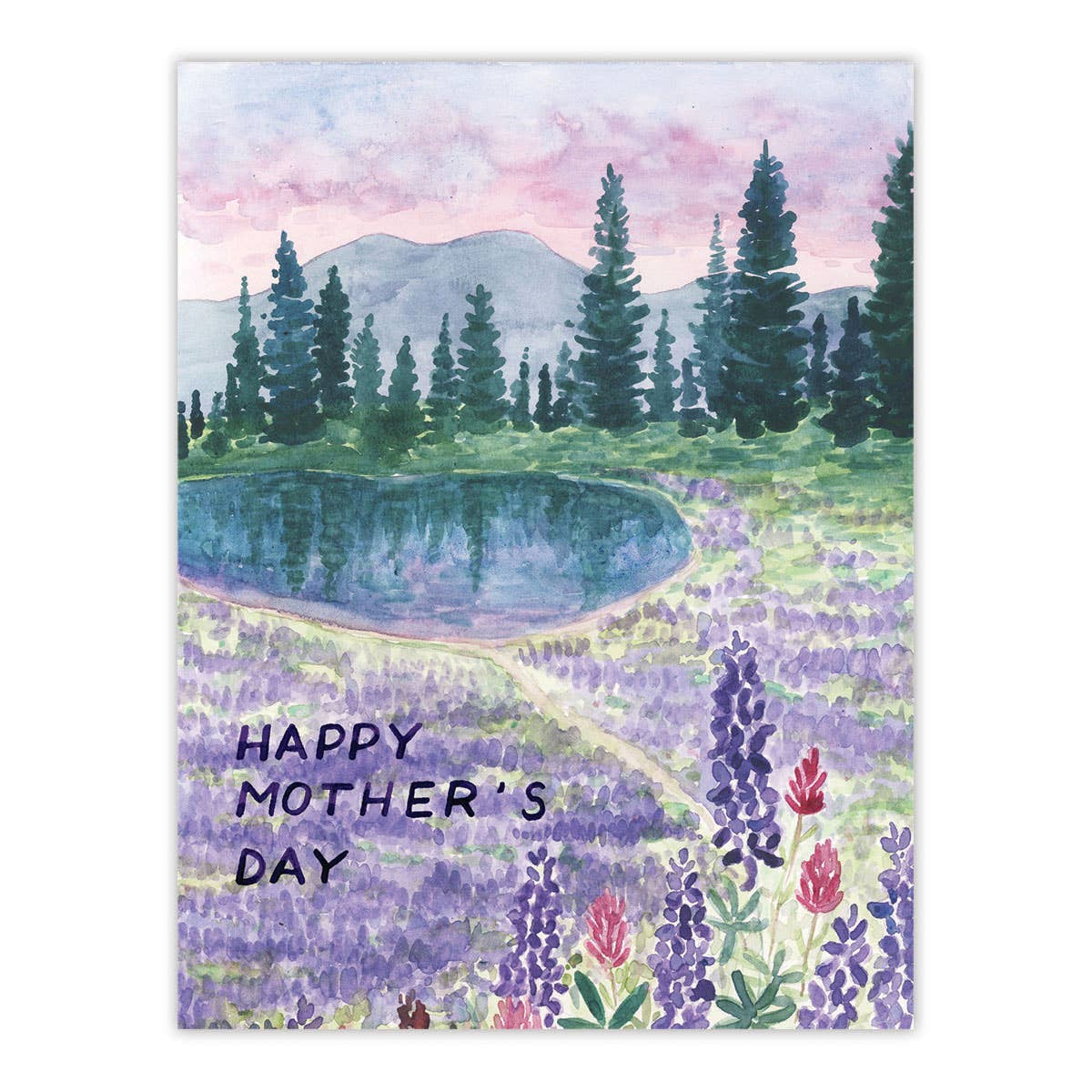 Hiking Mother's Day Card