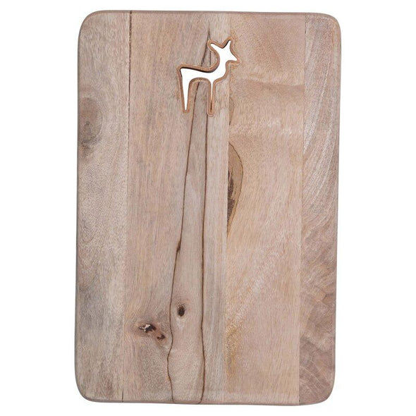 Reindeer Mango Wood Board