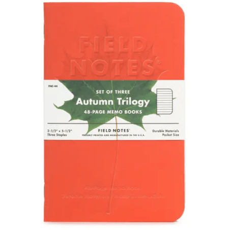 Autumn Trilogy 3-Pack Memo Books