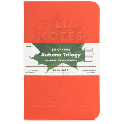 Field Notes: Autumn Trilogy 3-Pack