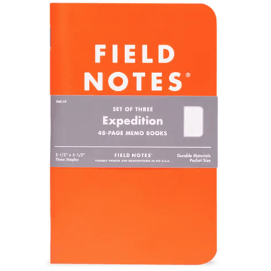 Expedition 3-Pack Memo Books | Field Notes