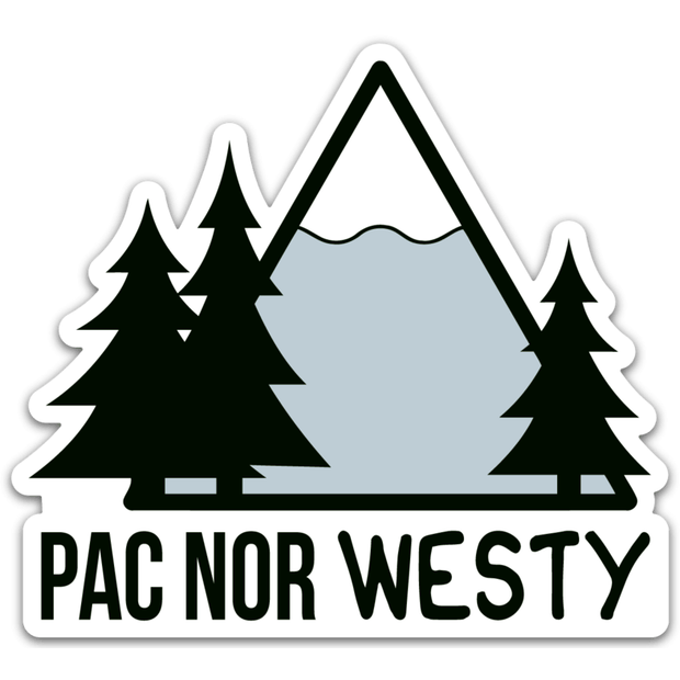 Pac Nor Westy Sticker
