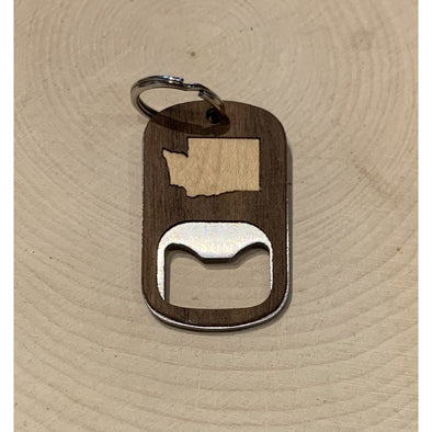 Washington Keychain Bottle Opener