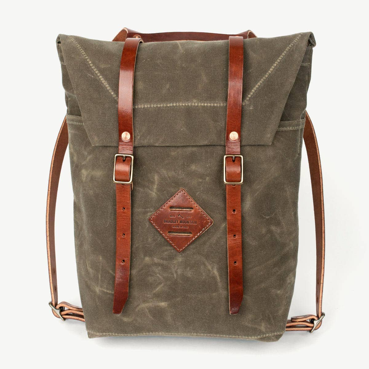 The Scout Bag - Field Tan | Bradley Mountain