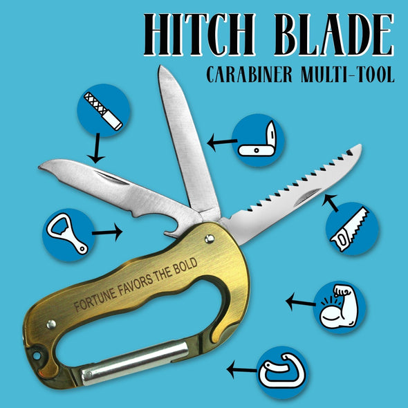 Hitch Blade Carabiner Multi-use Tool