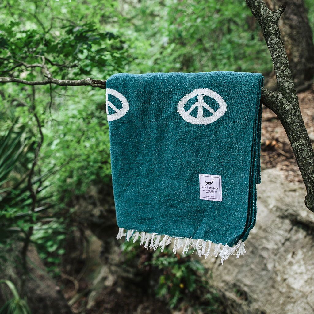Peace Blanket - Teal | Trek Light