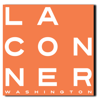 La Conner Square Sticker