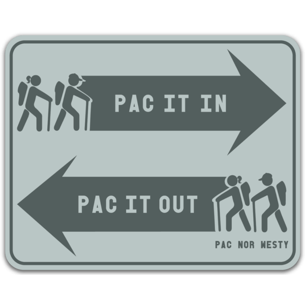 Pac It Out Sticker