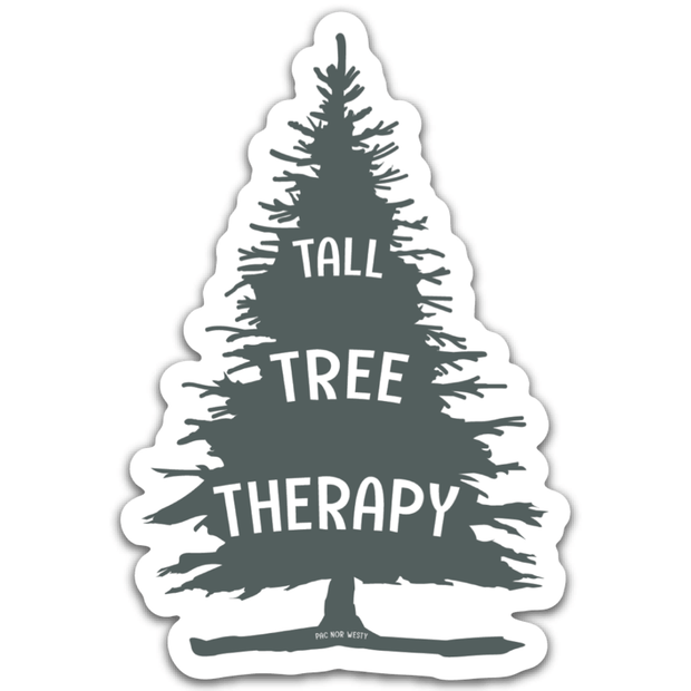Tall Tree Therapy Sticker