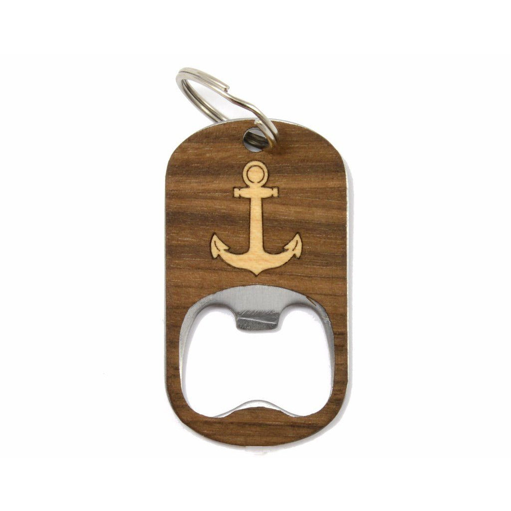 Anchor Keychain Bottle Opener