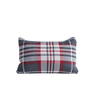 "Holiday Plaid Pillow | 22"" x 16"""