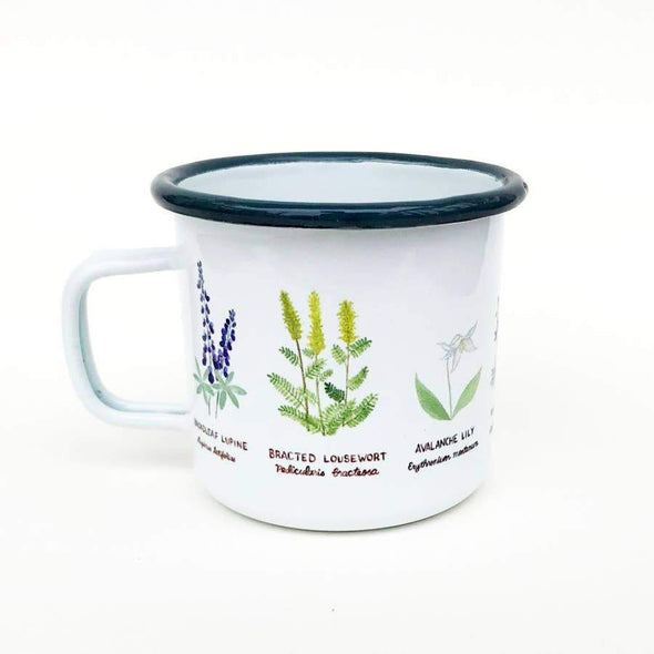 Yardia Pacific Northwest Wildflowers Mug