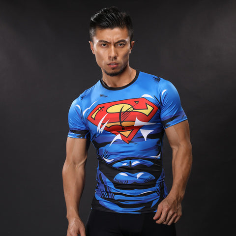 Superman Muscle Top