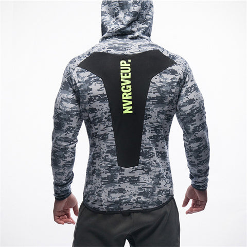 Fitness Hoodies  Sweatshirt