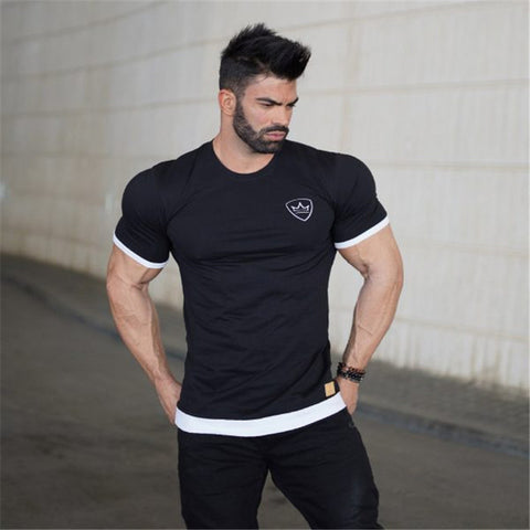 Casual Muscle Gym Shirt