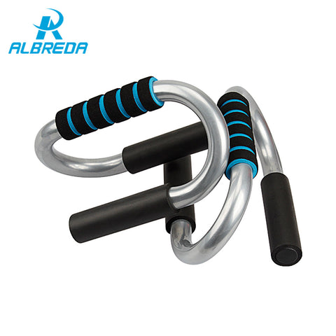 ALBREDA Fixed Metal Push Up Bars