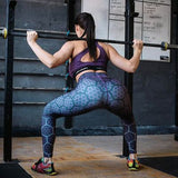 3D Sports Woman Leggings