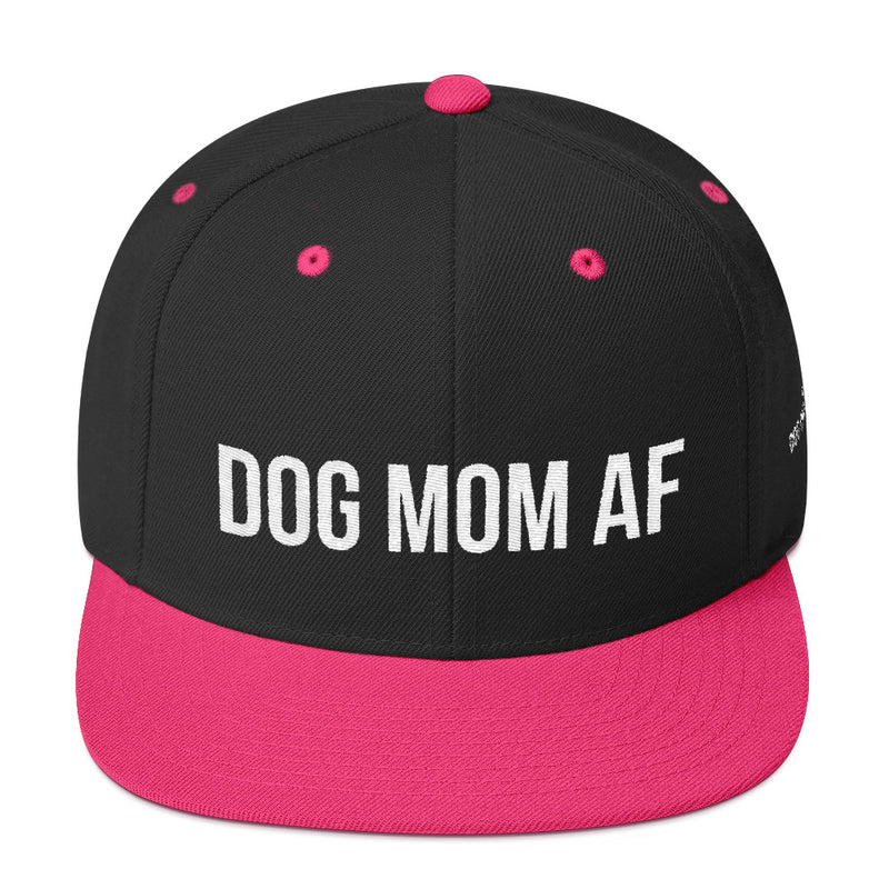 Dog Mom AF: Snapback Hat