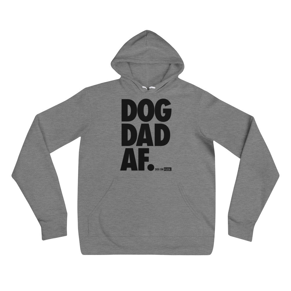 Dog Dad AF: Men's Hoodie