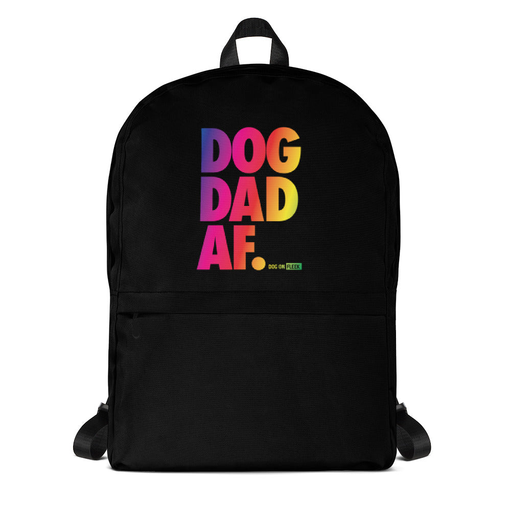 Dog Dad AF Pride: Backpack