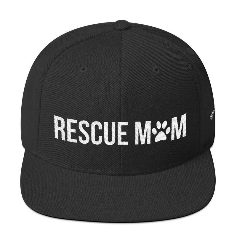Rescue Mom: Snapback Hat